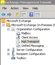 Encrypted Email Setup for Exchange 2010: Create a Smarthost