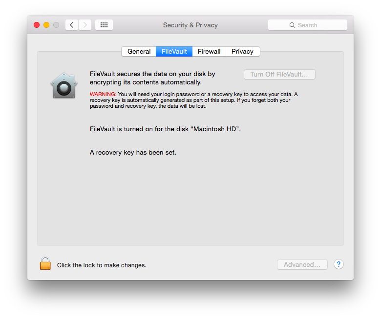 Full Disk Encryption for Mac OS - Paubox