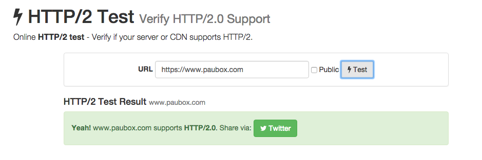 HTTP/2 support added to Paubox