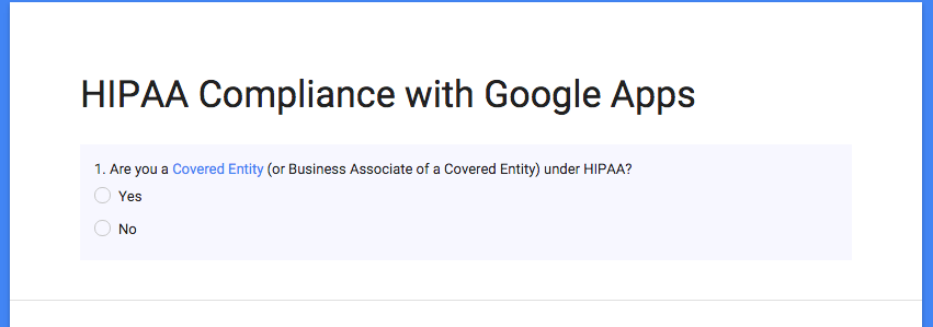 How Do I Get A Business Associate Agreement (BAA) With Google Apps?