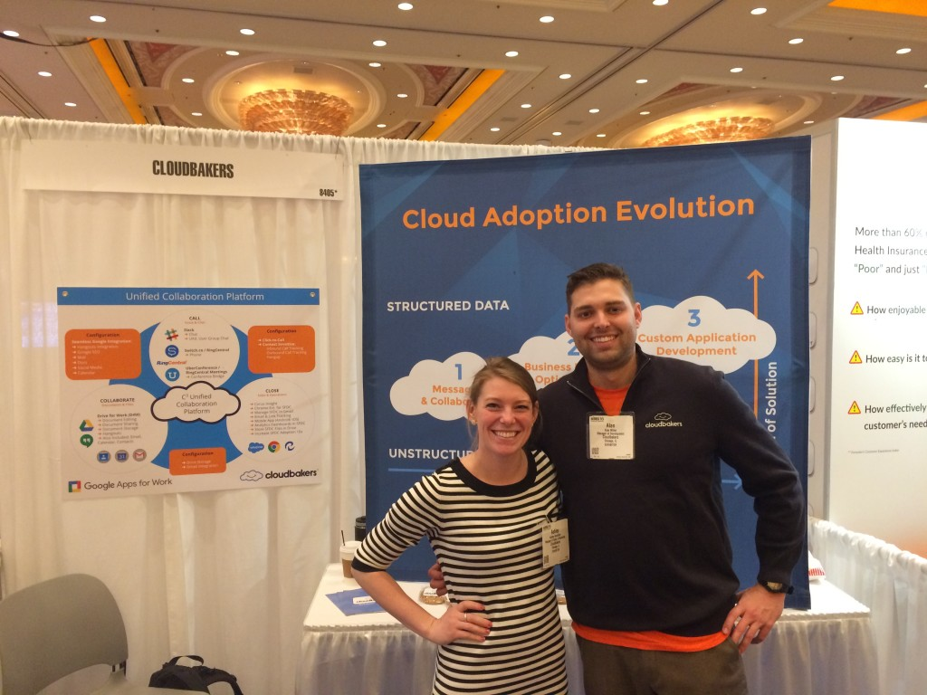 HIMSS16 Day Three: New Contacts (Cloudbakers) - Paubox