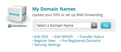 Select the domain you want to use with Paubox from the drop down menu.