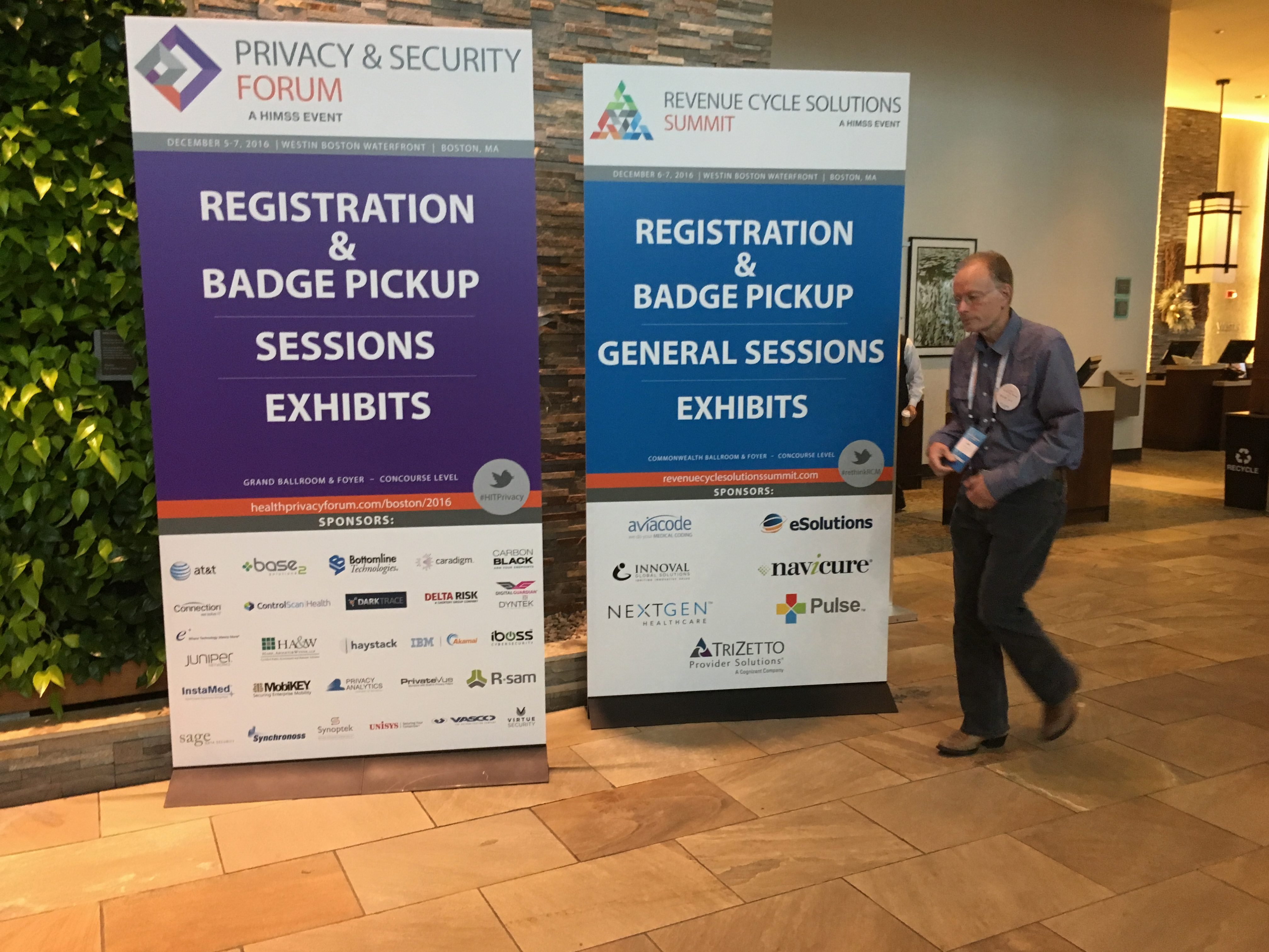 HIMSS Privacy and Security Forum in Boston - Paubox