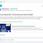 Our New LinkedIn Group: HIPAA Compliant Email