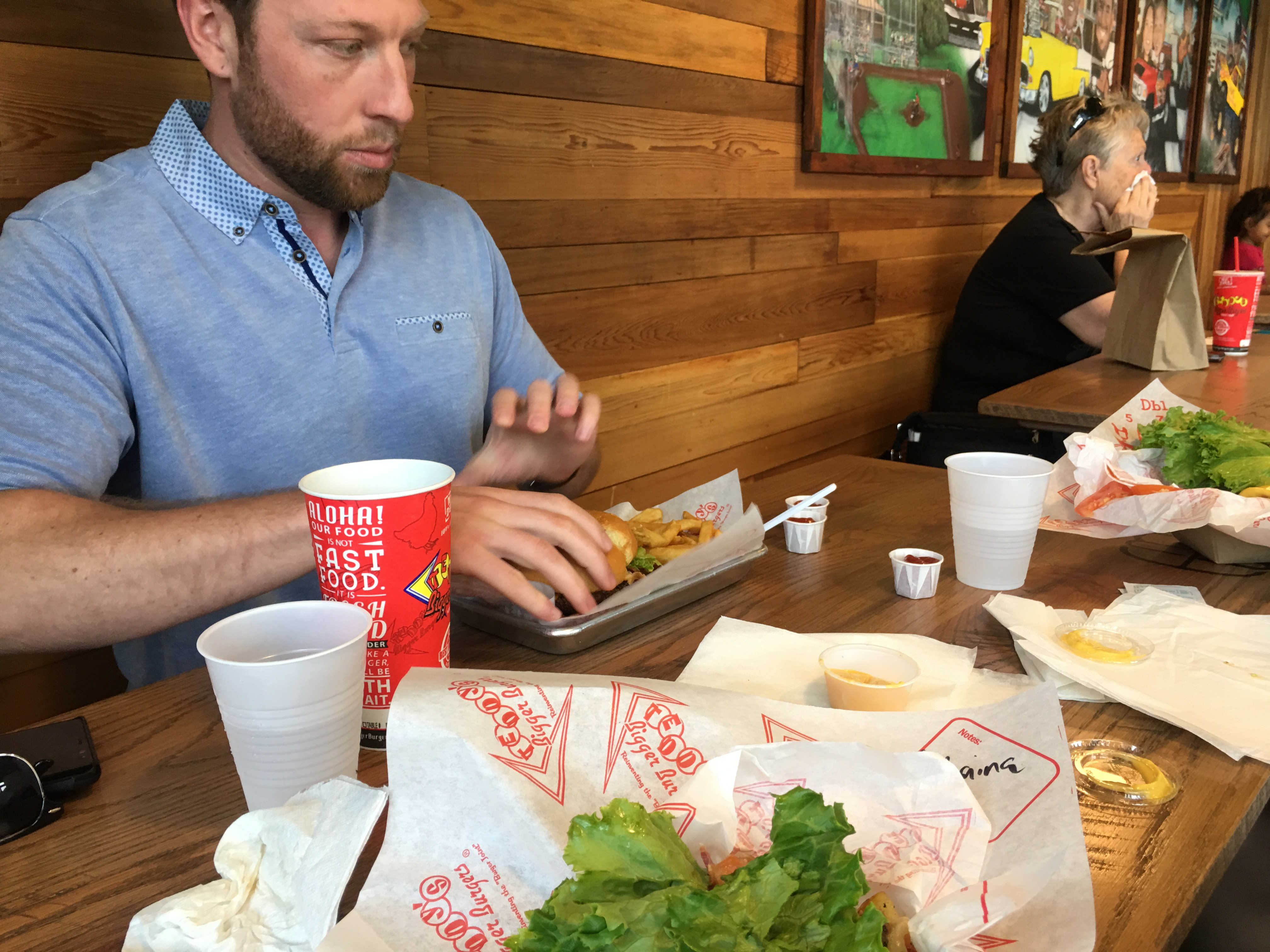 Teddy's Burgers - Getting after it