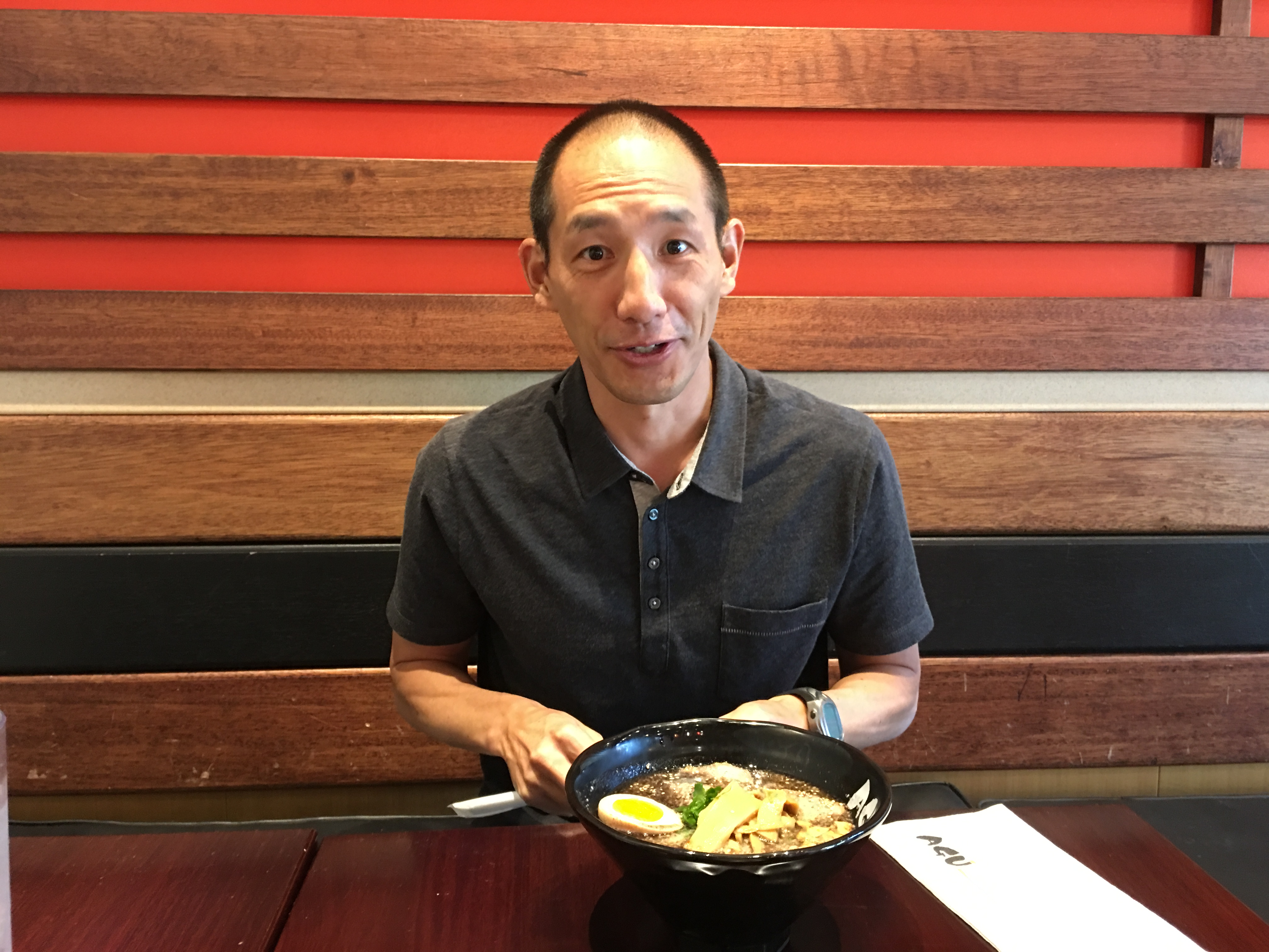 Lunch with Ben Wang