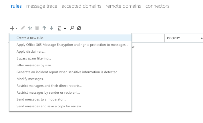 Using Exchange Admin Center to Configure Spam Email Filtering for Office 365 - Paubox