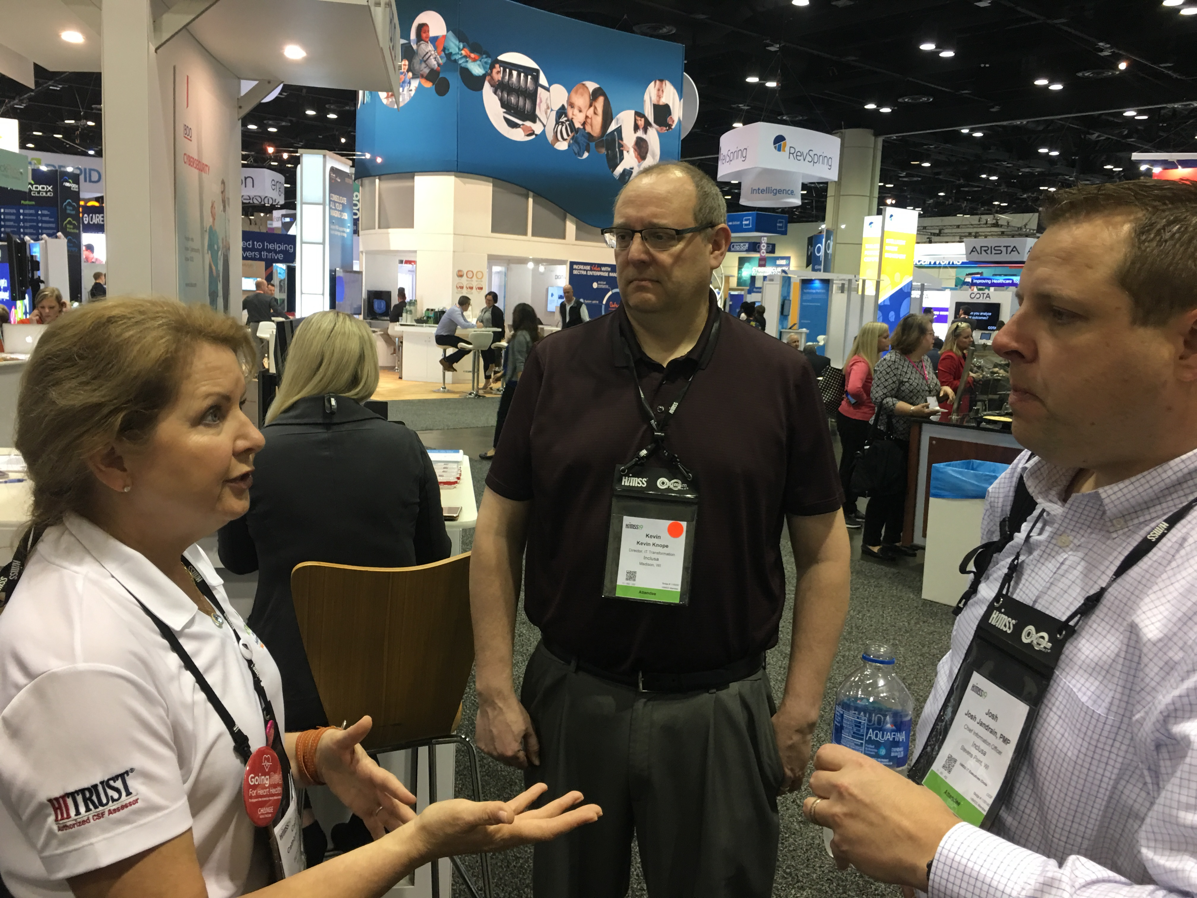 Cathlynn Nigh, Kevin Knope, and Josh Jandrain | HIMSS19 Orlando