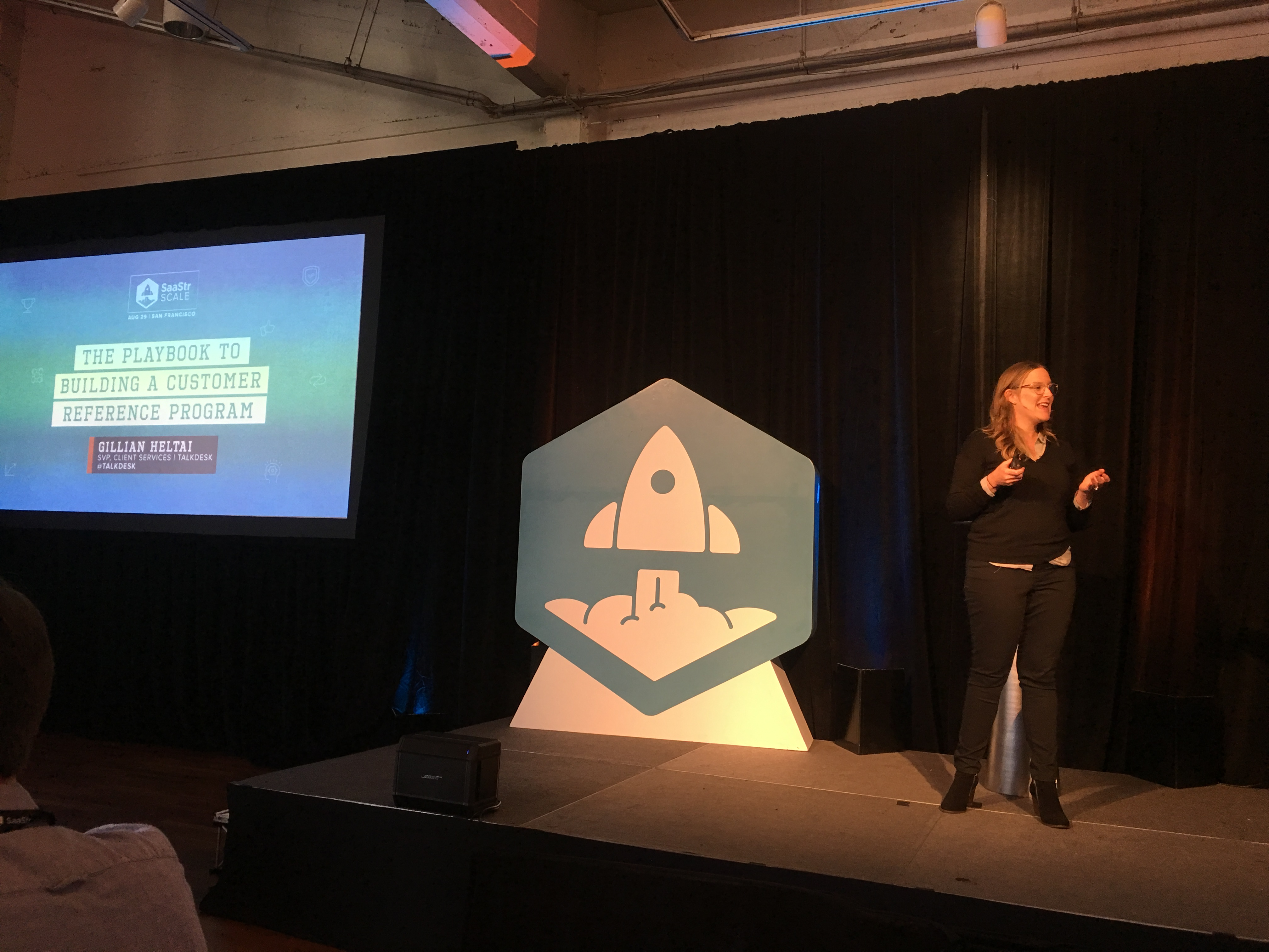 SaaStr Scale: The Playbook to Building a Customer Reference Program with Gillian Heltai