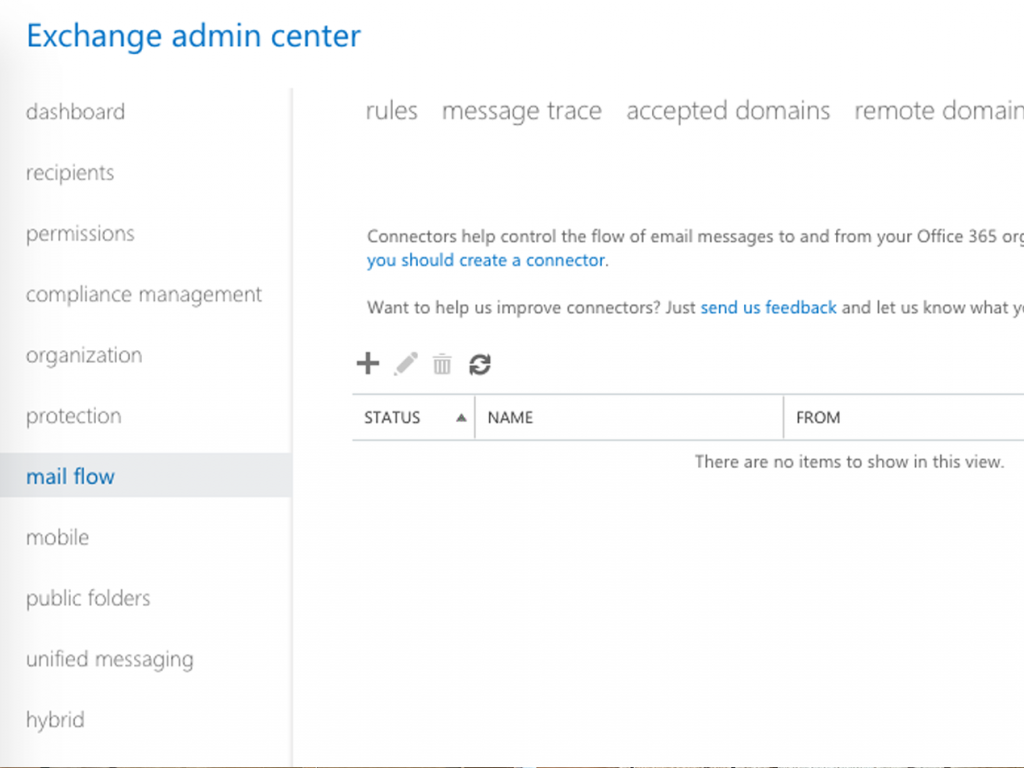 Office 365 admin panel to switch from Barracuda to Paubox secure email