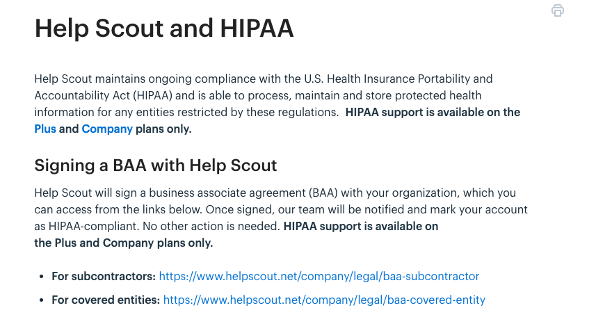 Can I use Help Scout and be HIPAA Compliant? - Paubox