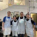 Serving 722 meals + 440 pounds of chicken at GLIDE Church