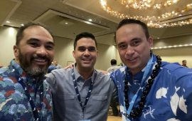 East Meets West 2020: Selfie with Donavan Kealoha and Keala Chock