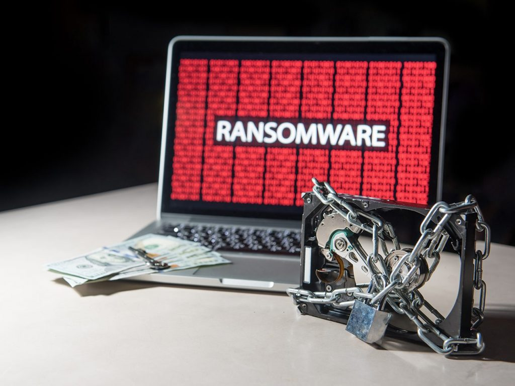 maze ransomware locks hard drive