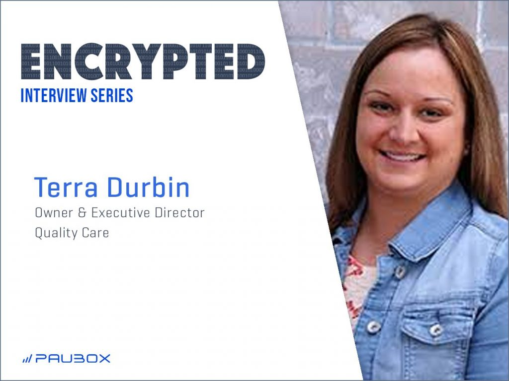 Encrypted Interview with Terra Durbin