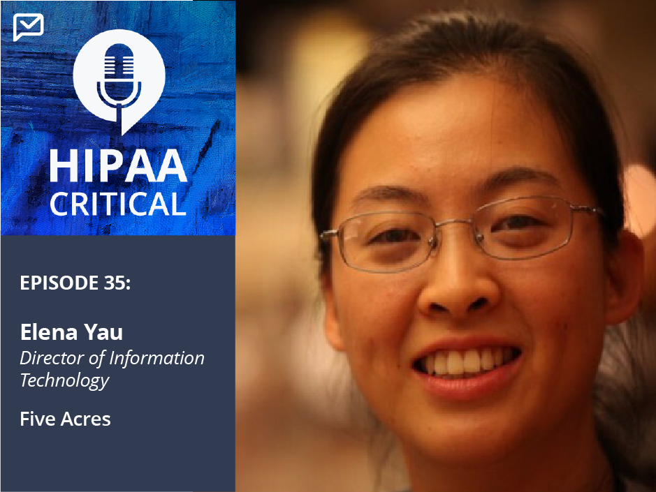 """35. Elena Yau: """"Email is the most convenient but is also the highest threat."""""""