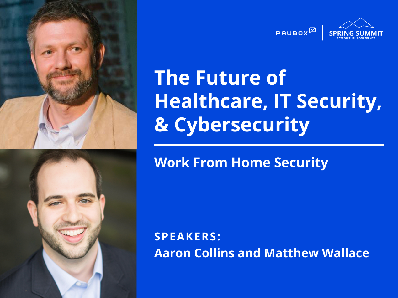 Aaron Collins and Matthew Wallace: Work from home security