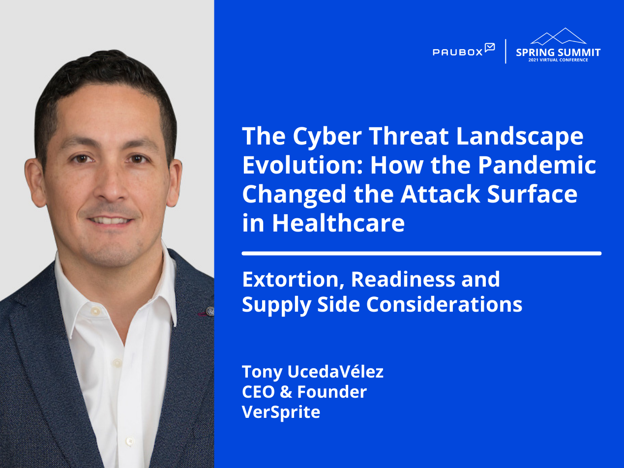 Tony UcedaVélez: Extortion, readiness and supply side considerations
