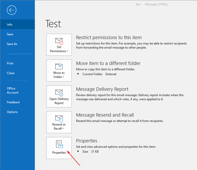 How to Check if TLS Encryption Is Being Used in Outlook - Paubox