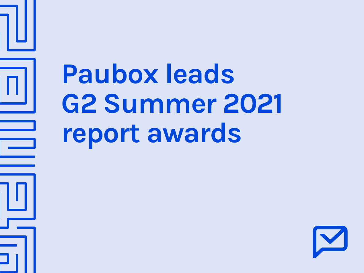 Paubox leads G2 Grid® Report for Summer 2021