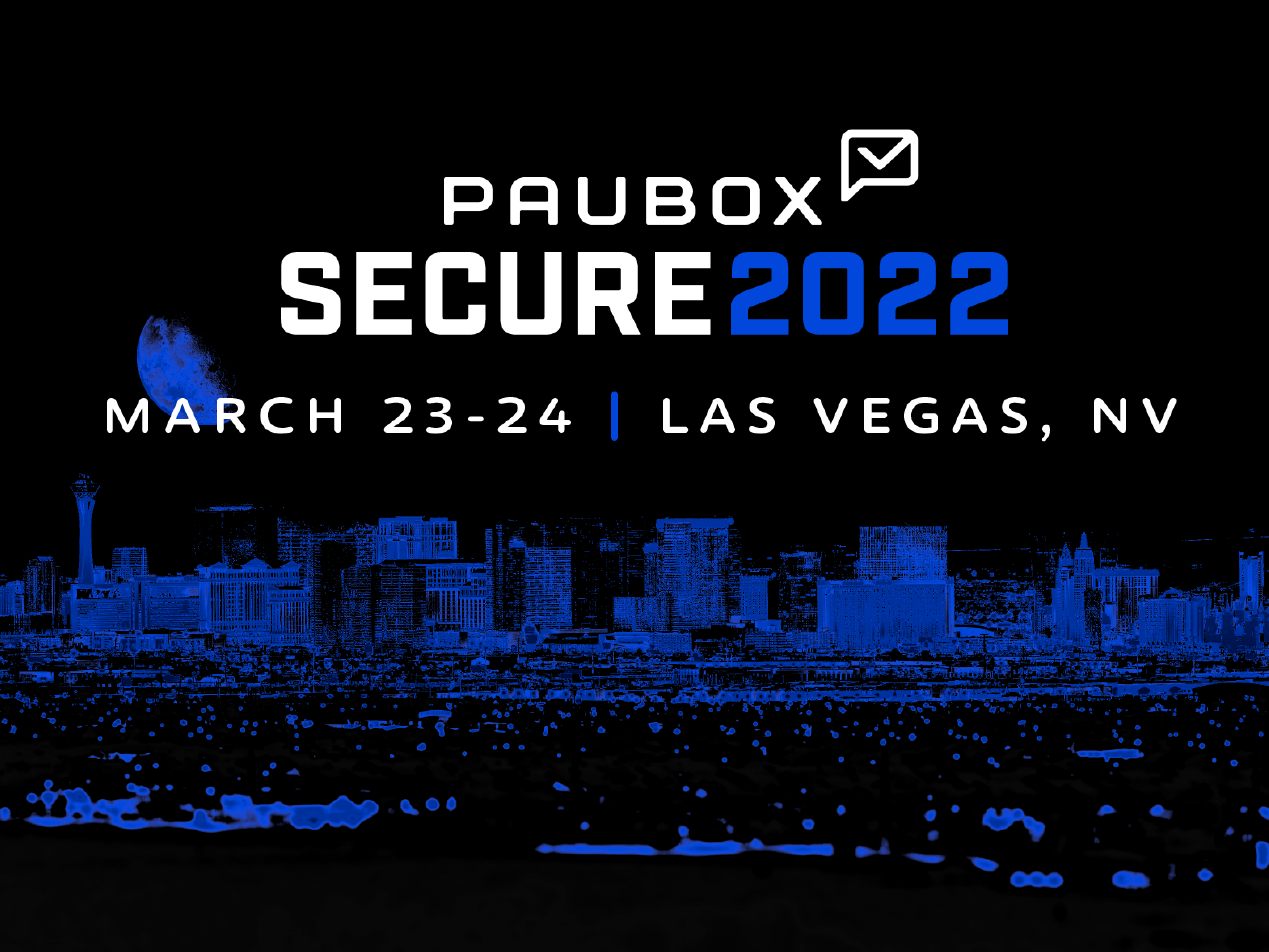 Save the date! Paubox SECURE rescheduled to March 2022