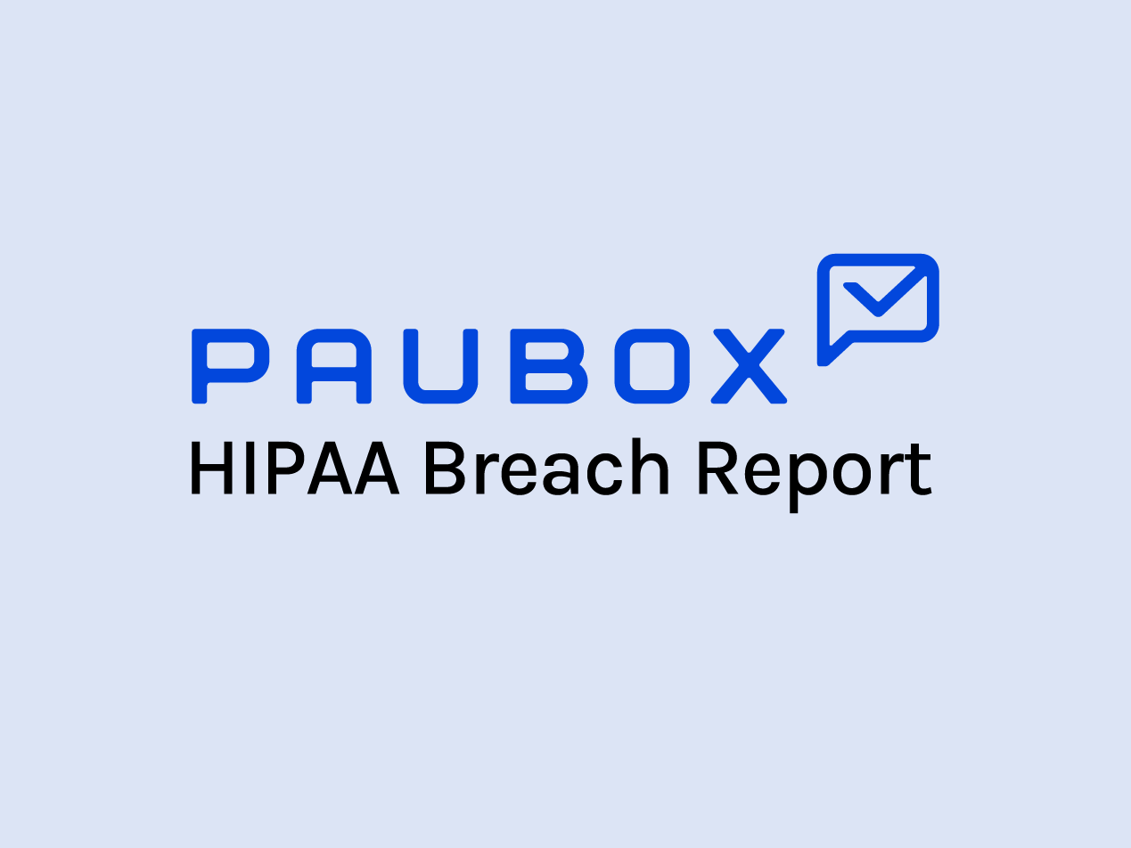 HIPAA Breach Report for October 2021